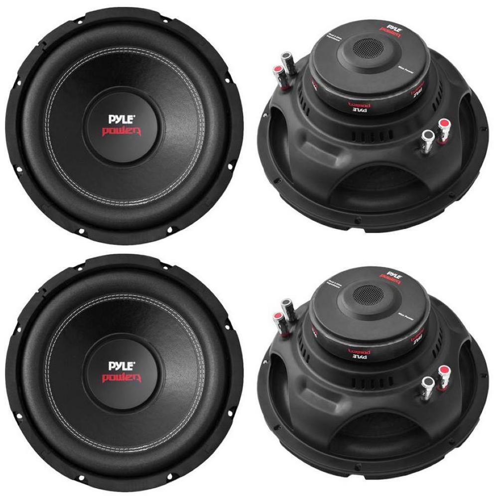 15 in. 8000-Watt Car Subwoofers Audio Power Subs Woofers DVC 4 Ohm
