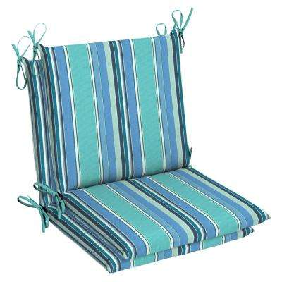 Sunbrella Dolce Oasis Outdoor Dining Chair Cushion (2 Pack)