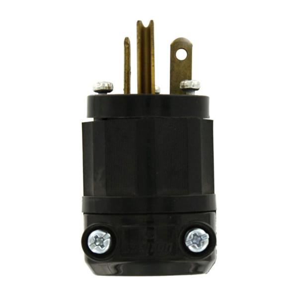 Leviton 5366-C 5-20P Black /& White male plug