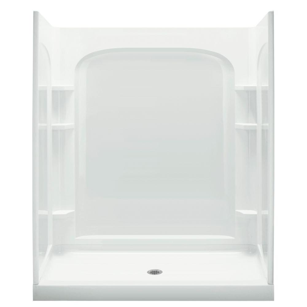 Plastic - Shower Stalls & Kits - Showers - The Home Depot