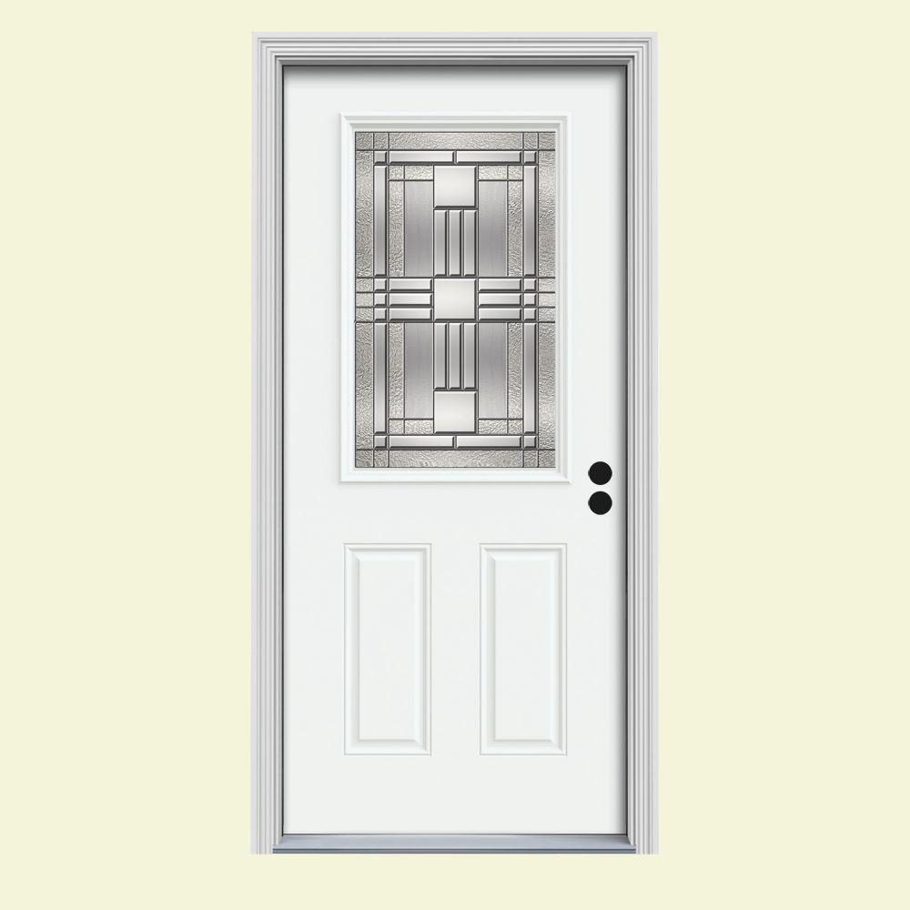 Jeld Wen Doors : Jeld wen in lite cordova white painted