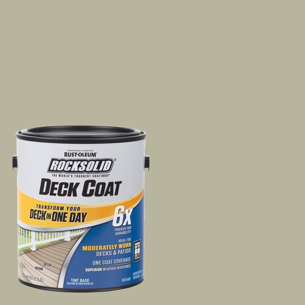Rust-Oleum RockSolid 1 gal  Sedona Exterior 6X Deck Coat