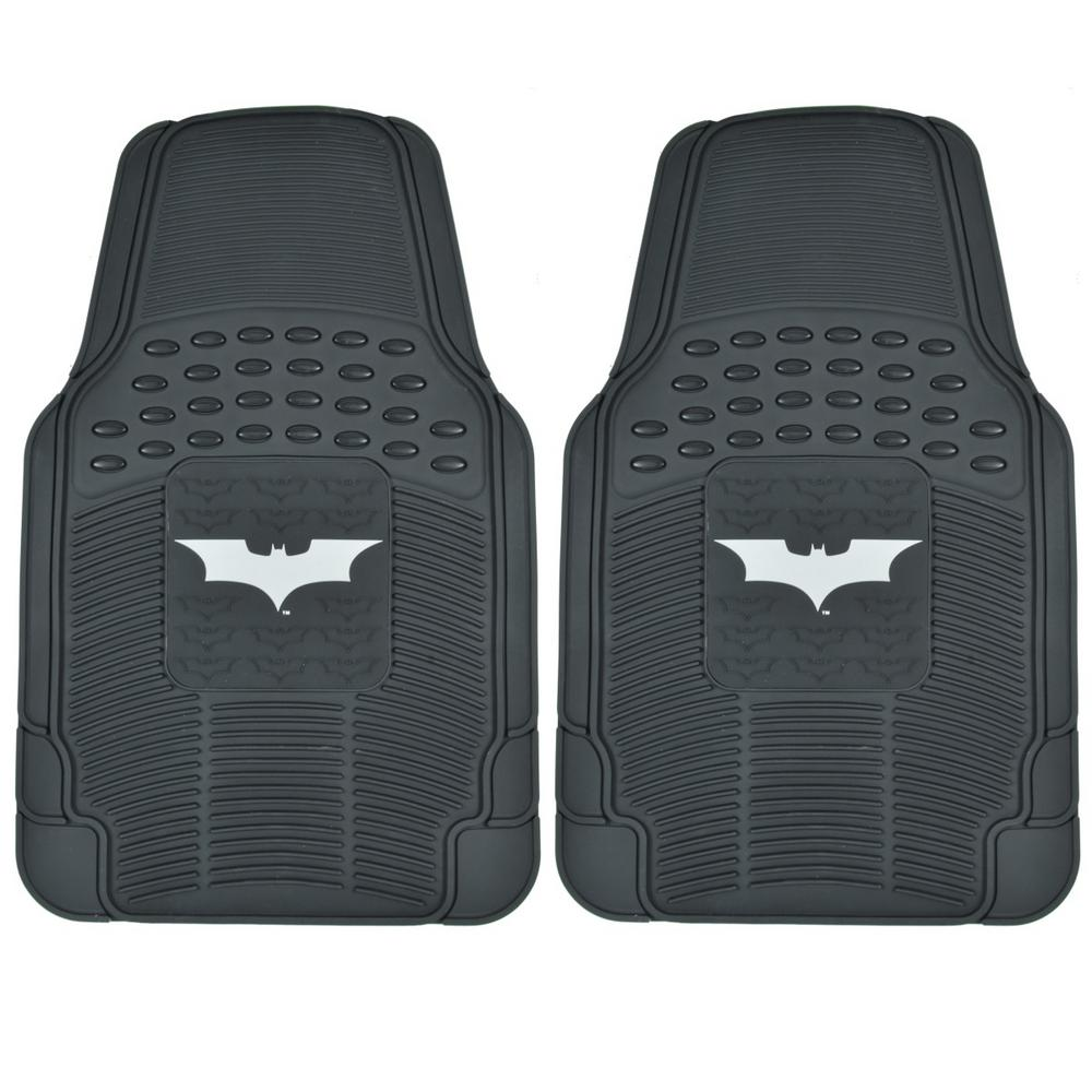 Dark Night Batman Wbmt 1472 Rubber 2 Pieces Car Floor Mats