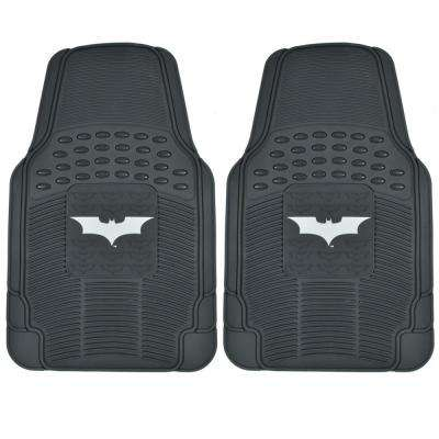 Dark Night Batman WBMT-1472 Rubber 2 Pieces Car Floor Mats