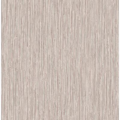 Kofi Light Pink Faux Grasscloth Wallpaper