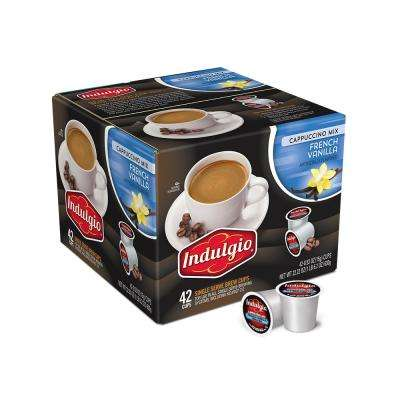 French Vanilla Cappuccino (42 Single Serve Cups per Case)