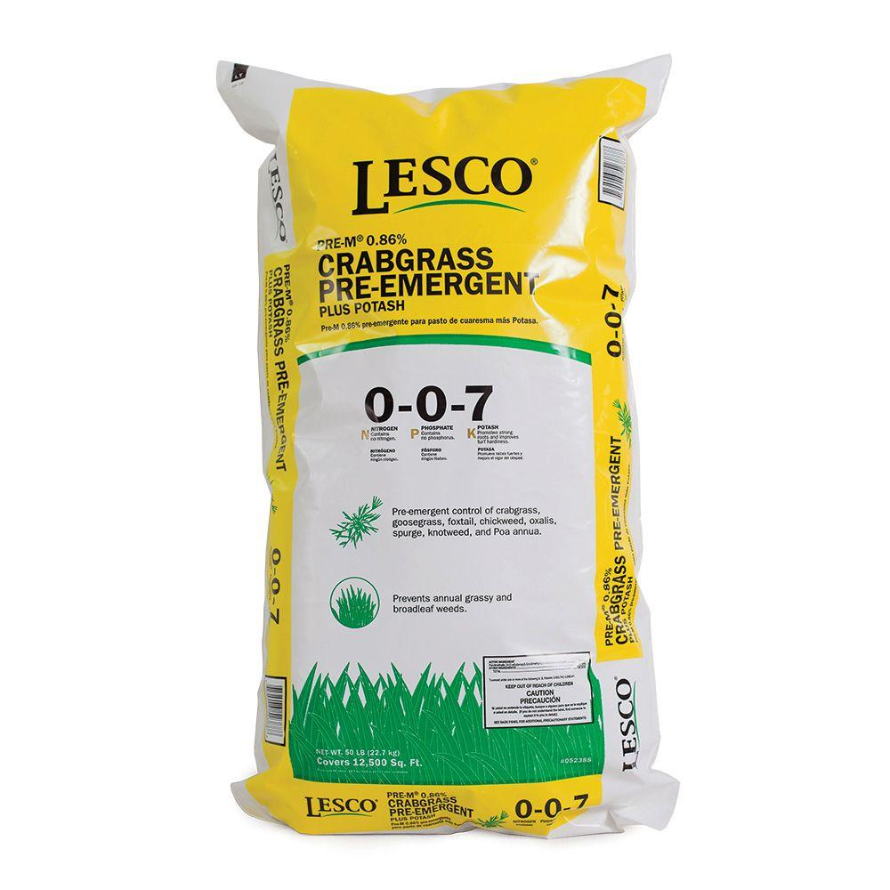 LESCO 50 lb. Crabgrass Control 0-0-7