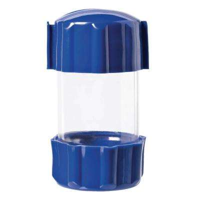 2 in. x 4 in. Clear Can Storage Container