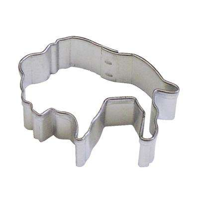 12-Piece Mini Buffalo Tinplated Steel Cookie Cutter & Recipe