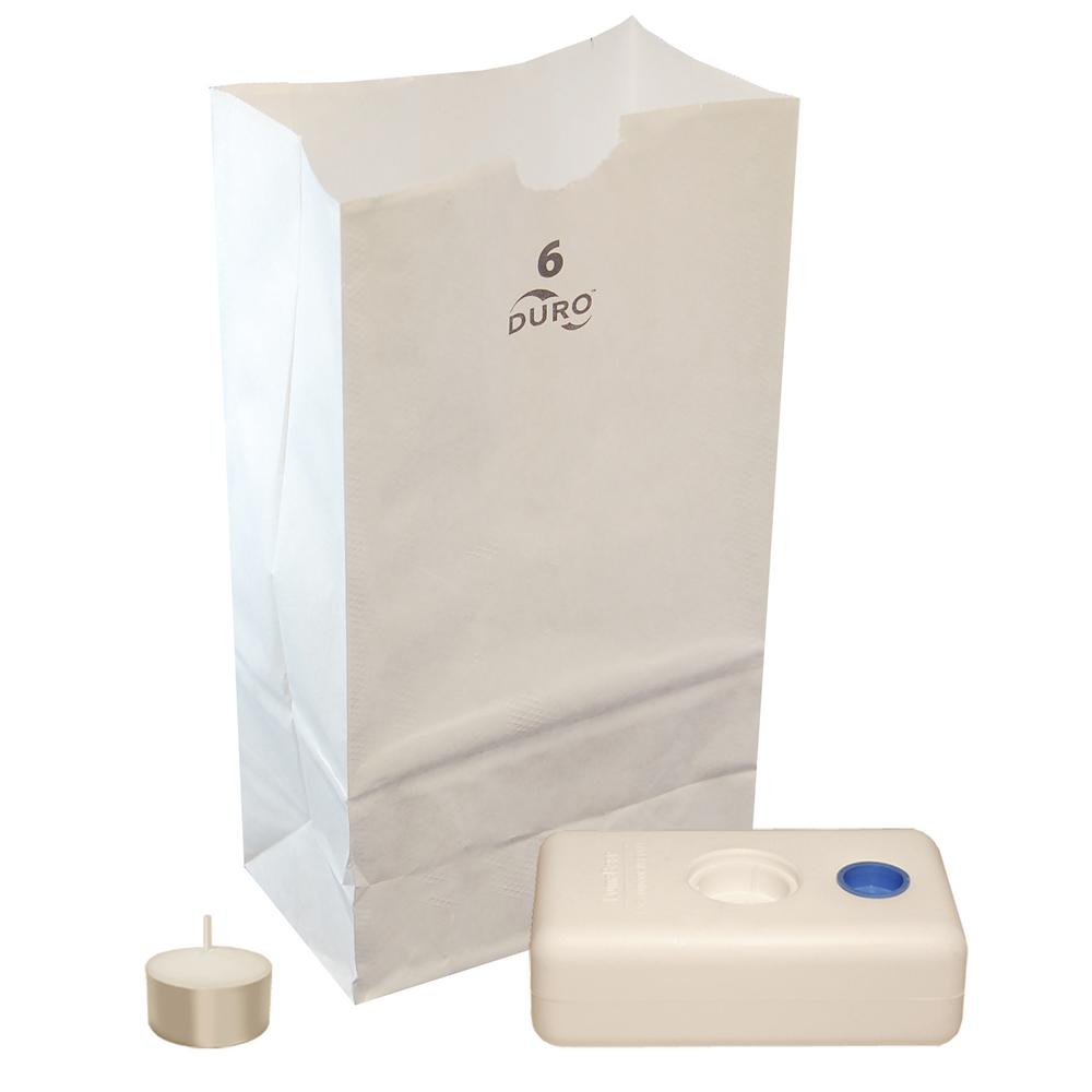 11 in. High Economy Complete Luminaria Kit (100 count)