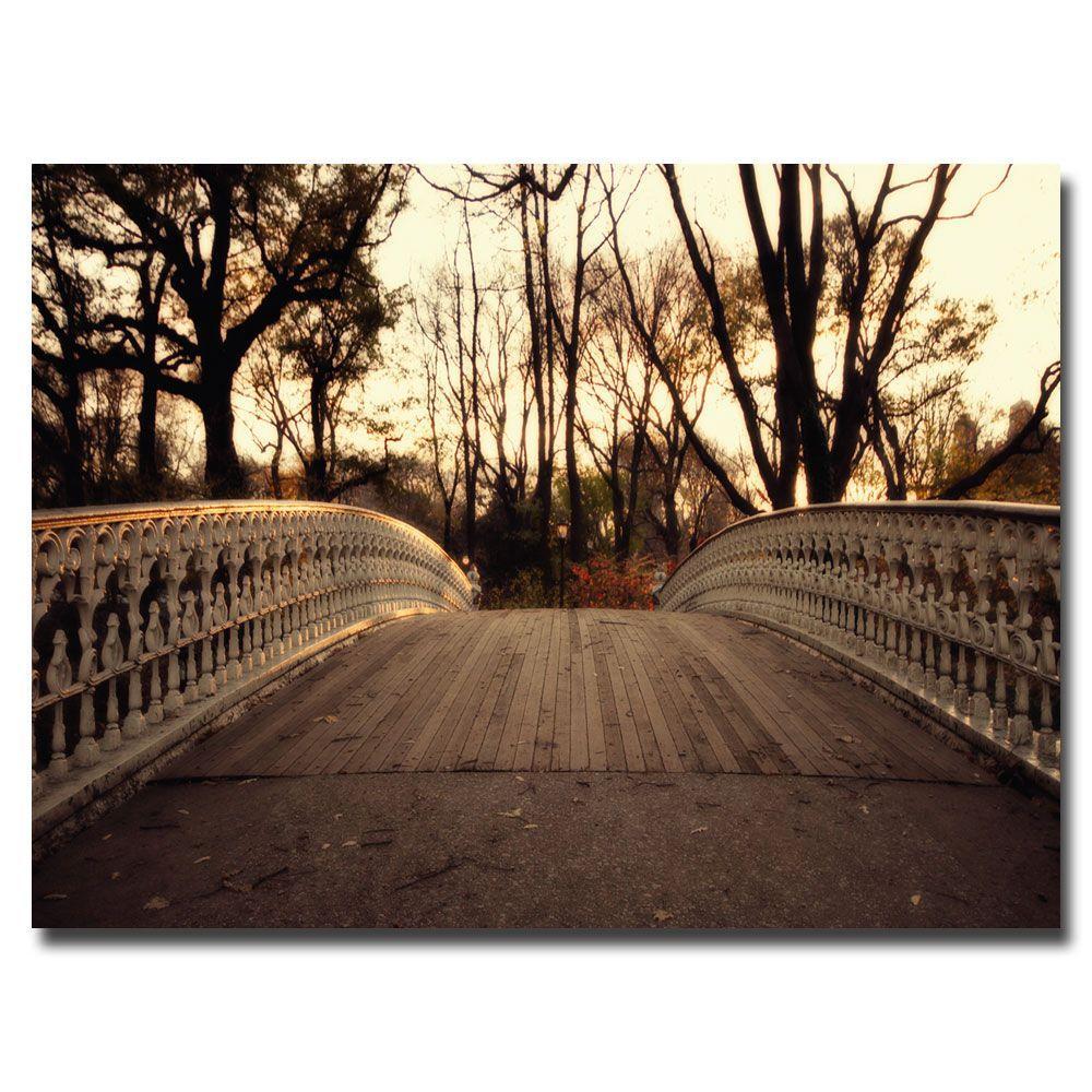 null 30 in. x 47 in. Bridge Canvas Art