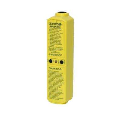 20 Amp 120-Volt Manual Reset In-Line User-Attachable Grounded GFCI Plug, Yellow