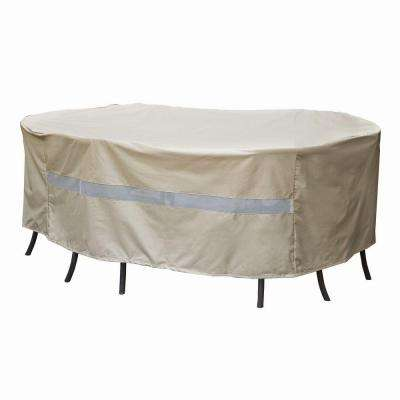 Polyester Original Rectangular Patio Table and Chair Set Cover with PVC Coating