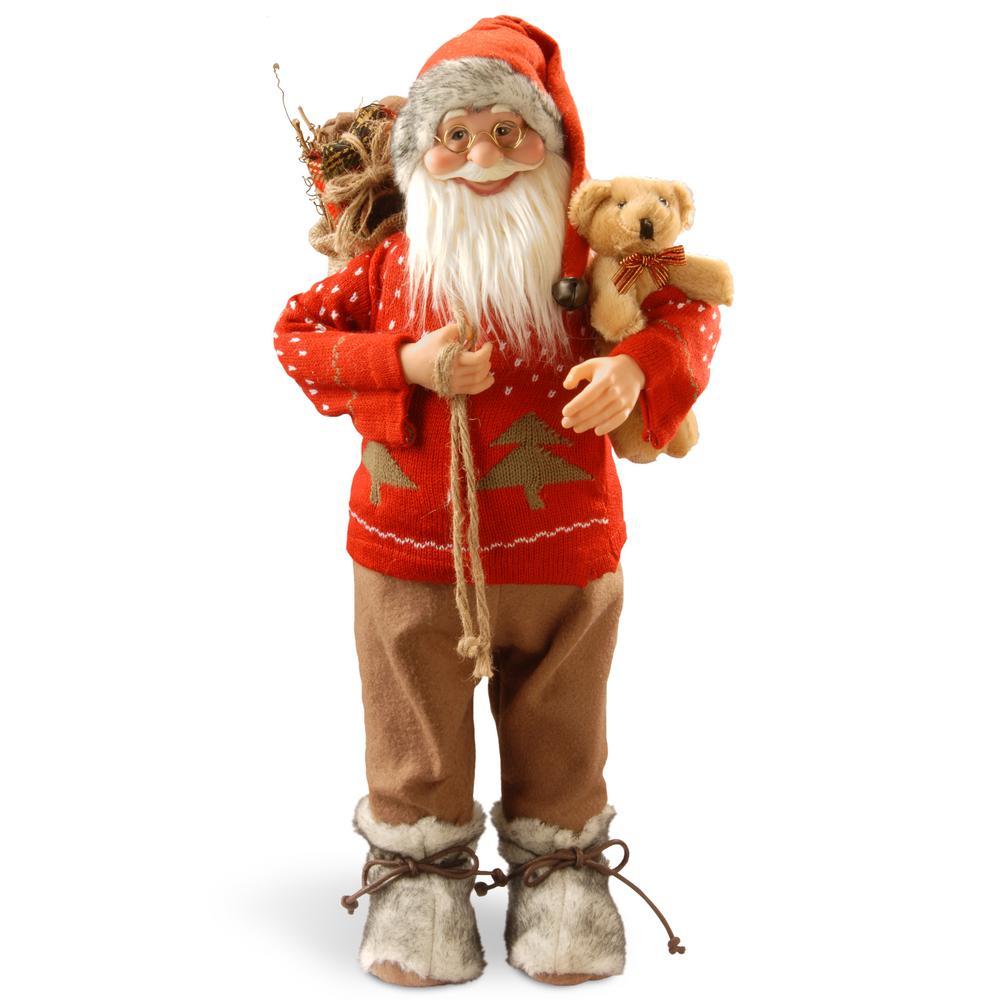 24 in. Standing Santa