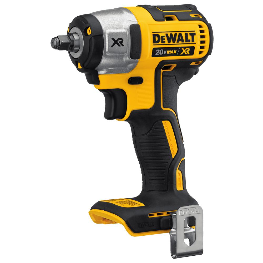 DEWALT 20-Volt MAX Lithium-Ion 3/8 in. Cordless Compact Impact Wrench (Tool-Only)