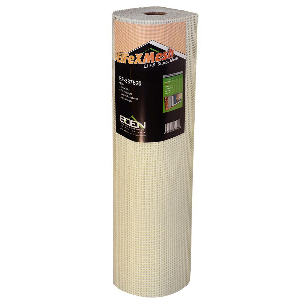 FiFlexMesh 20 oz. 38 in. x 75 ft. Heavy-Duty EIFS Stucco