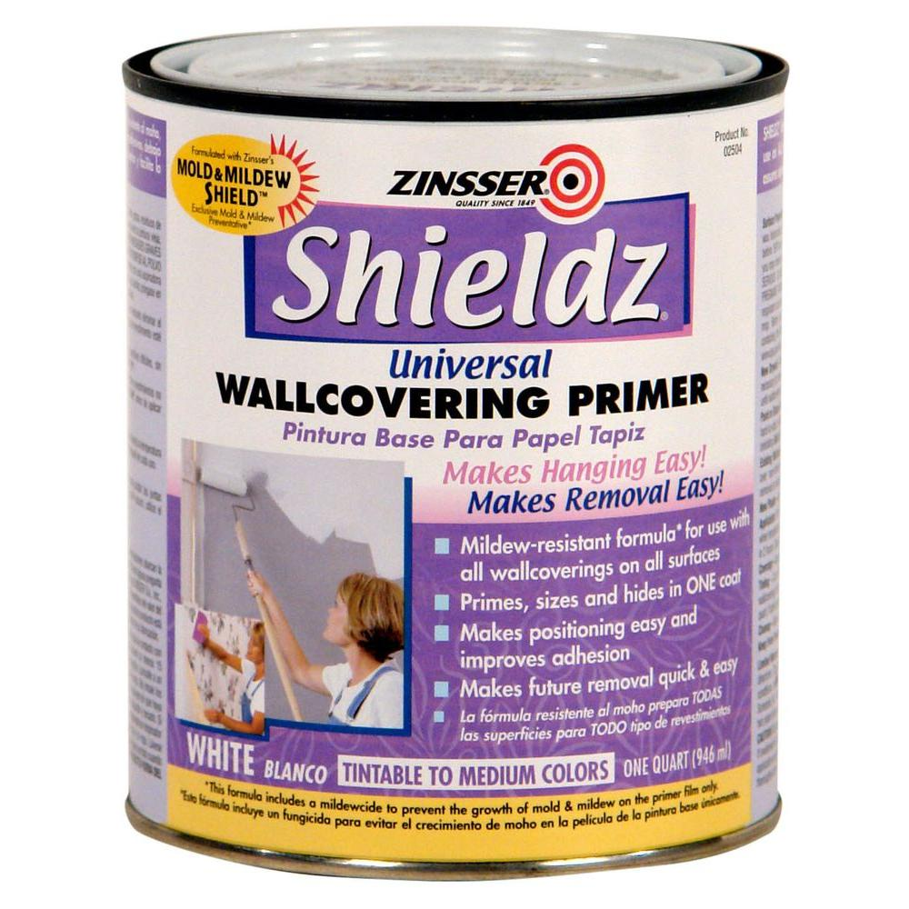 1-qt. Shieldz Universal Water Based White Primer and Sealer (Case of