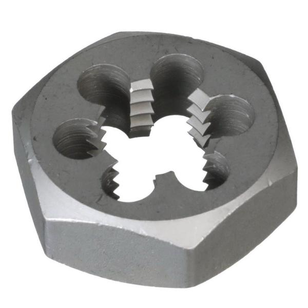 "DWT Series Drill America 1-1//4/""-12 Carbon Steel Hex Rethreading Die"