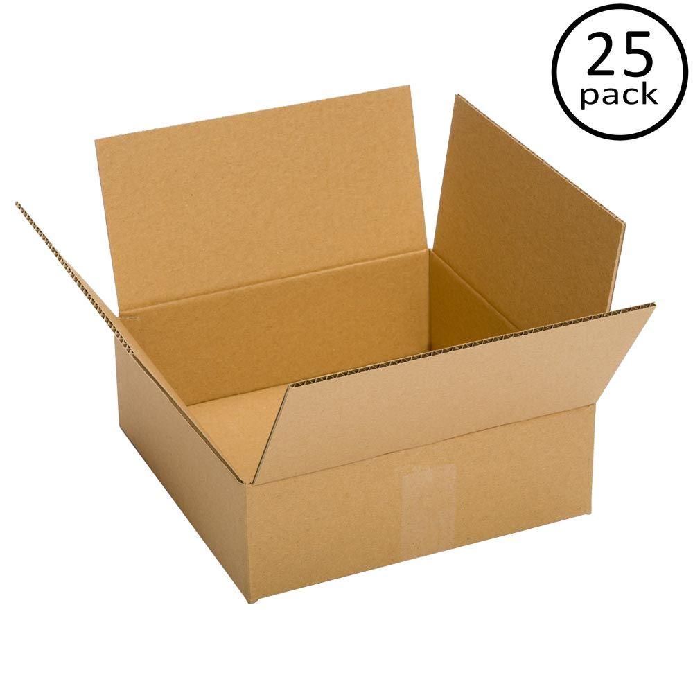 13 in. L x 10 in. W x 4 in. D Box (25-Pack)