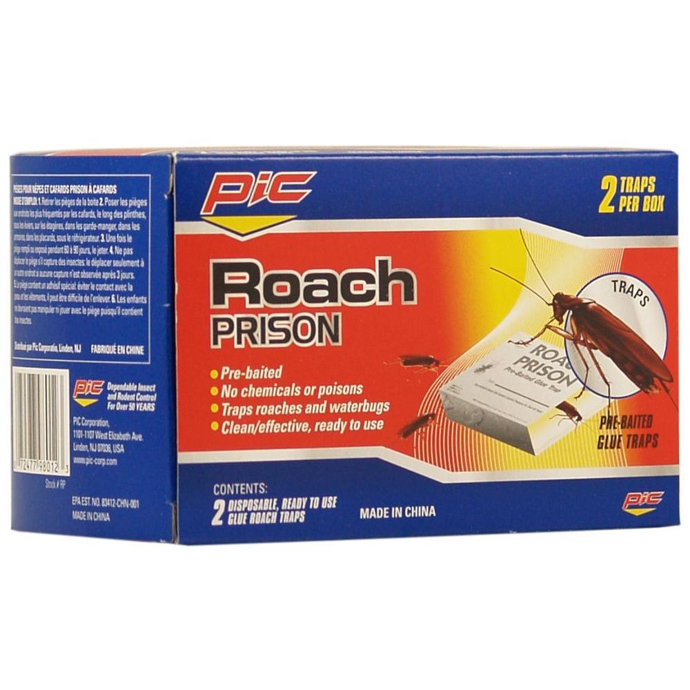 Roach Prison Trap (12-Pack, 24-Traps)