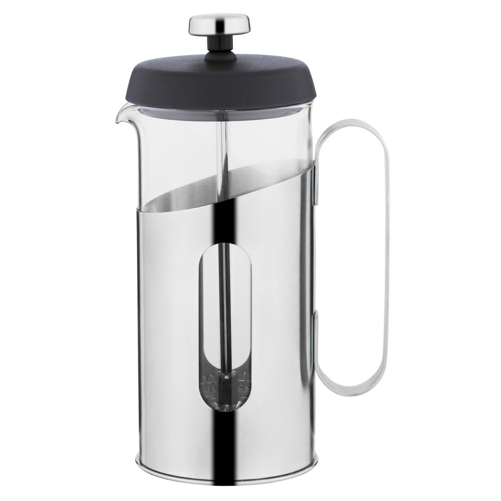 Essentials 2 Cup .37 Qt. Stainless Steel Coffee and Tea French