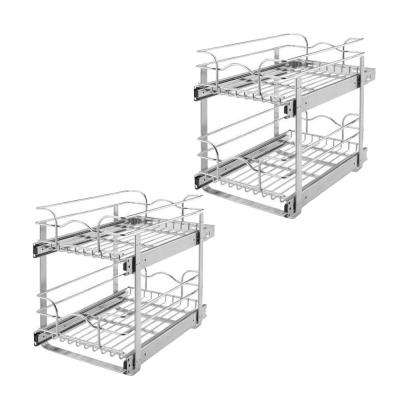 24 in. x 20.5 in. Wire Organizer for Cabinets (2-Pack)