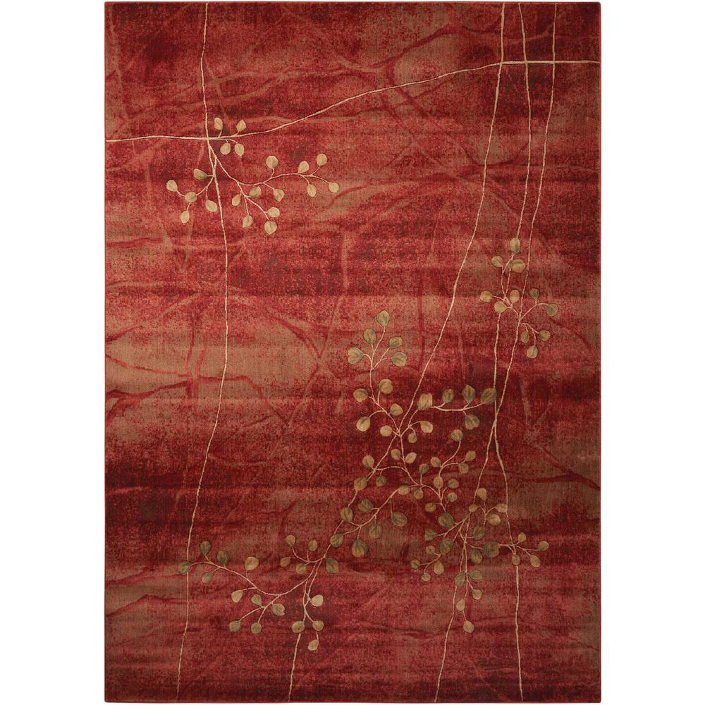 Nourison Somerset Flame 7 ft. 9 in. x 10 ft. 10 in. Area Rug