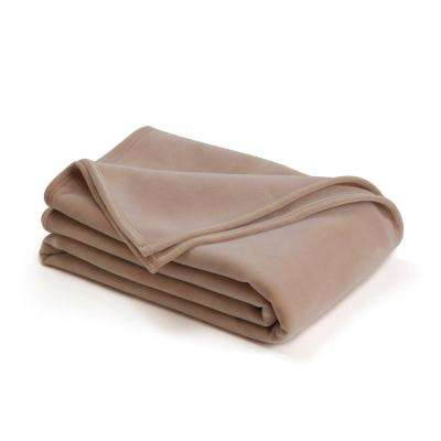 Original Tan Nylon Full/Queen Blanket
