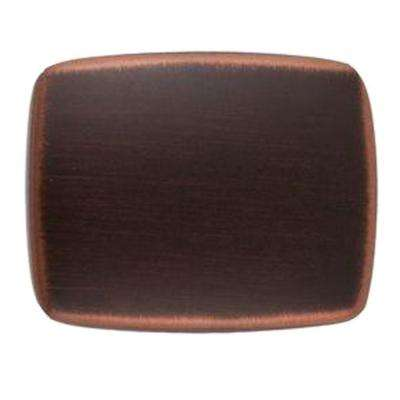 Grayson 1-1/4 in. Satin Copper Rectangle Cabinet Knob