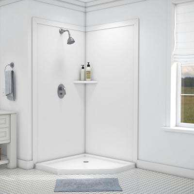 Two piece - Glue-up - Shower Walls & Surrounds - Showers - The Home ...