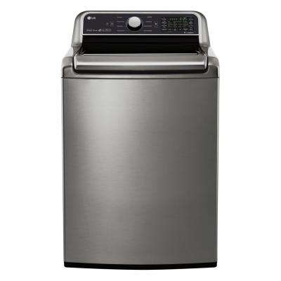 5.0 cu. ft. Smart Top Load Washer with WiFi Enabled in Graphite Steel, ENERGY STAR