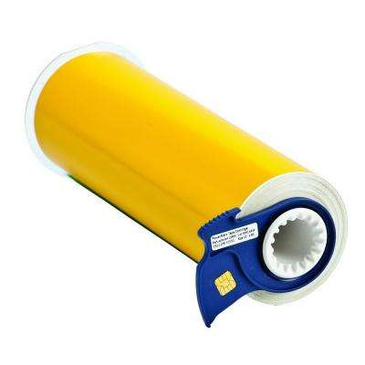 Powermark 50 ft. x 10 in. Vinyl Yellow Adhesive Tape