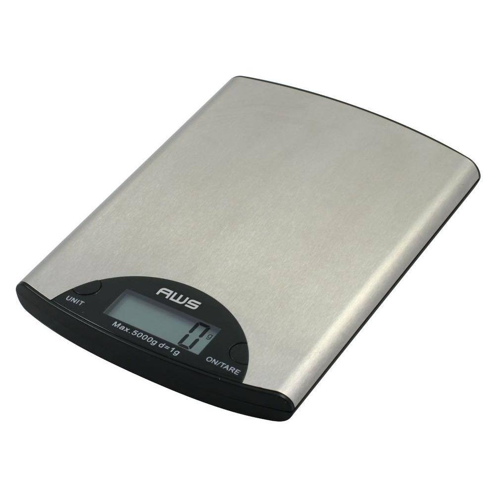 American Weigh Digital Kitchen Scale in Stainless Steel