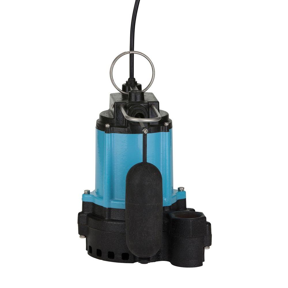 10EC-CIA-SFS 1/2 HP Automatic Submersible Cast Iron with Plastic Base Sump