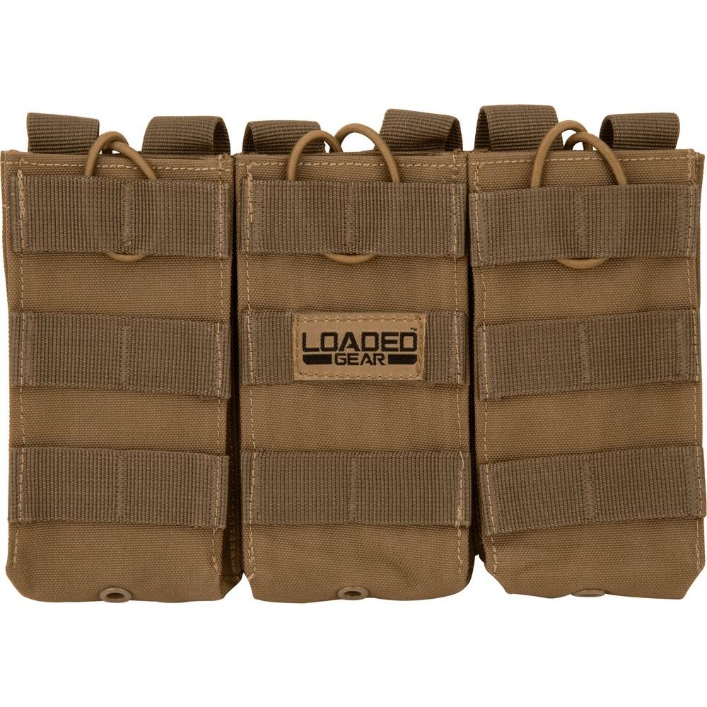Loaded Gear CX-200 Triple Magazine Pouch in Flat Dark Earth