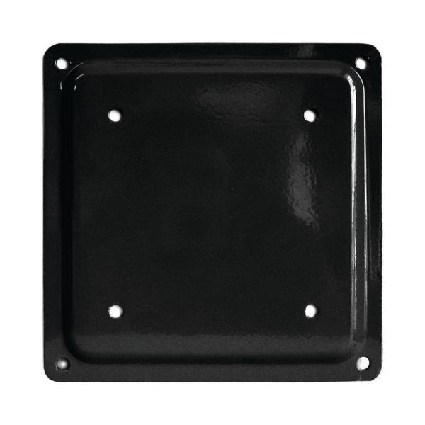 Fixplak 66 Black Decking Base Plate (Pack of 10 Units)