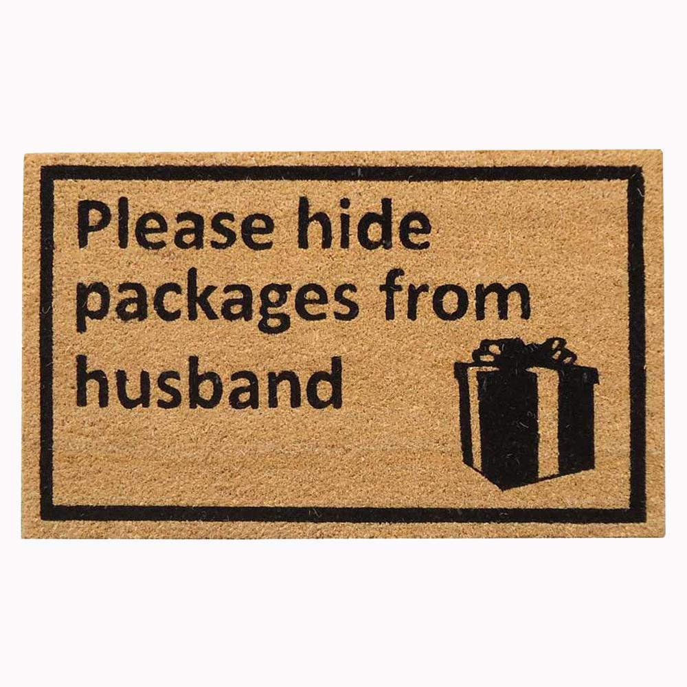 18 in. x 30 in. Hide Packages Super Scraper Door Mat