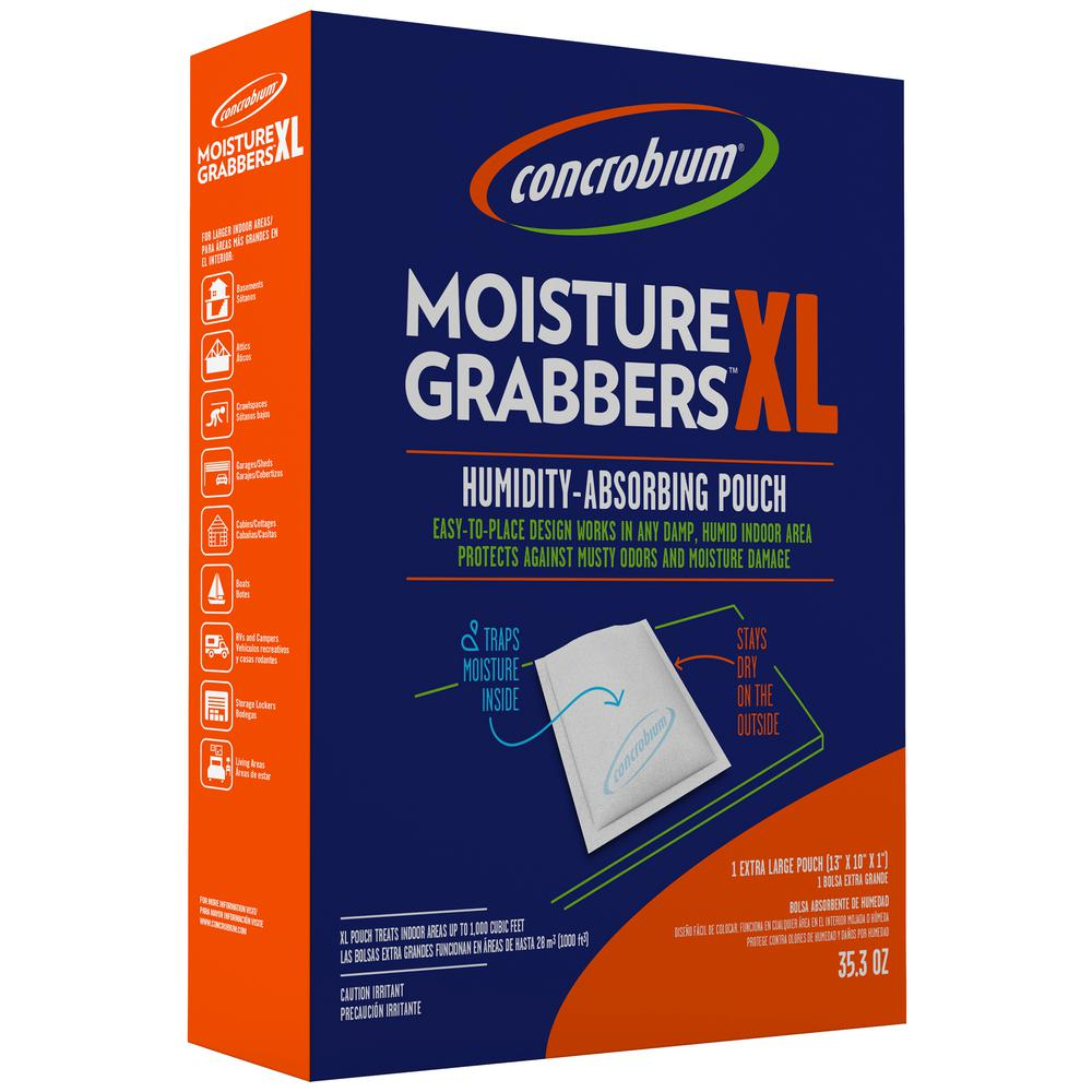 35.3 oz. Moisture Grabbers XL Humidity Absorbing Pouch for Large Areas