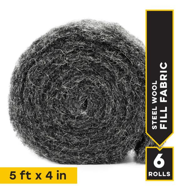 Rodent and Pest Control Fill Fabric (6-Roll/Box)