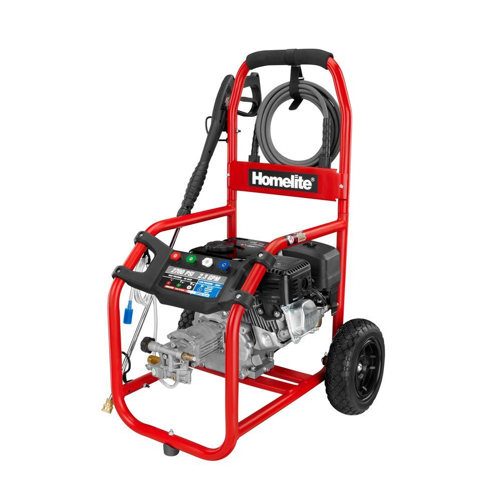 Homelite 2700-PSI 2.3-GPM Gas Pressure Washer
