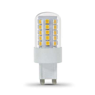 40-Watt Equivalent Warm White (3000K) G9 Bi-Pin LED Light Bulb