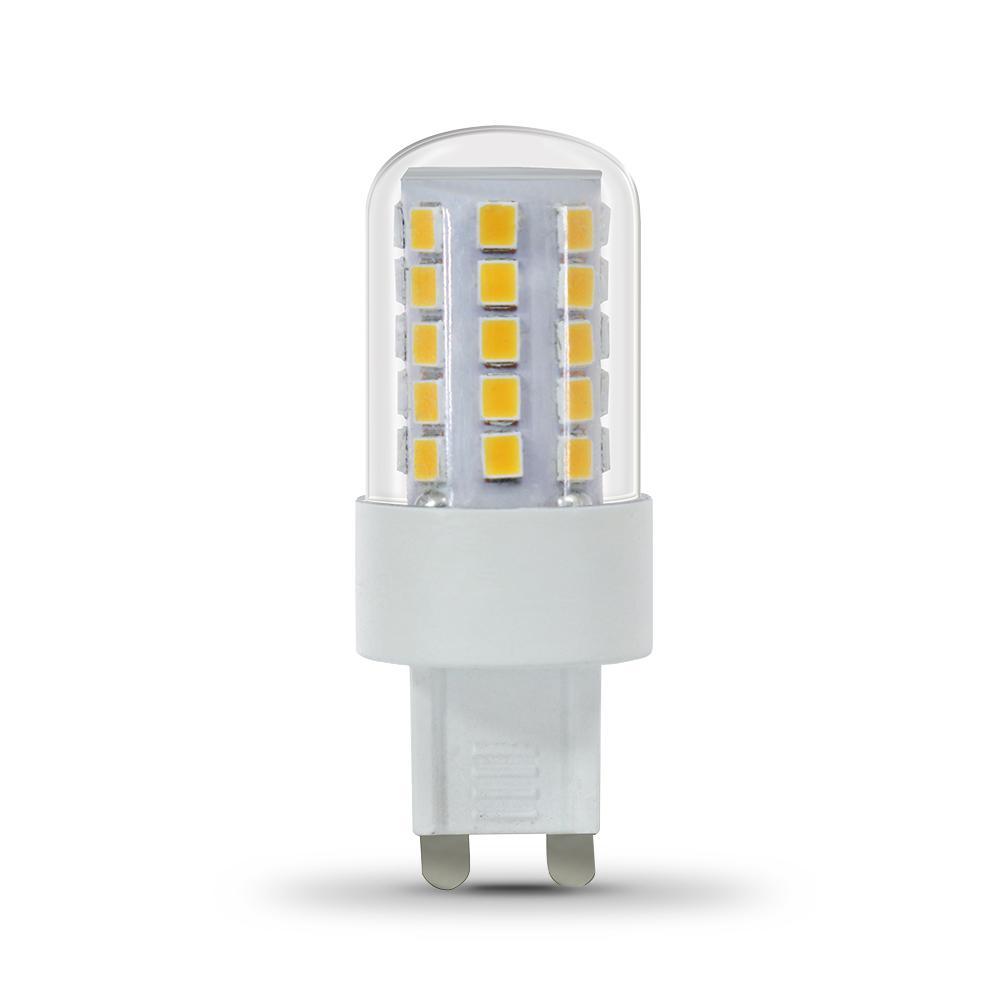 40-Watt Equivalent Warm White (3000K) G9 Bi-Pin LED Light Bulb