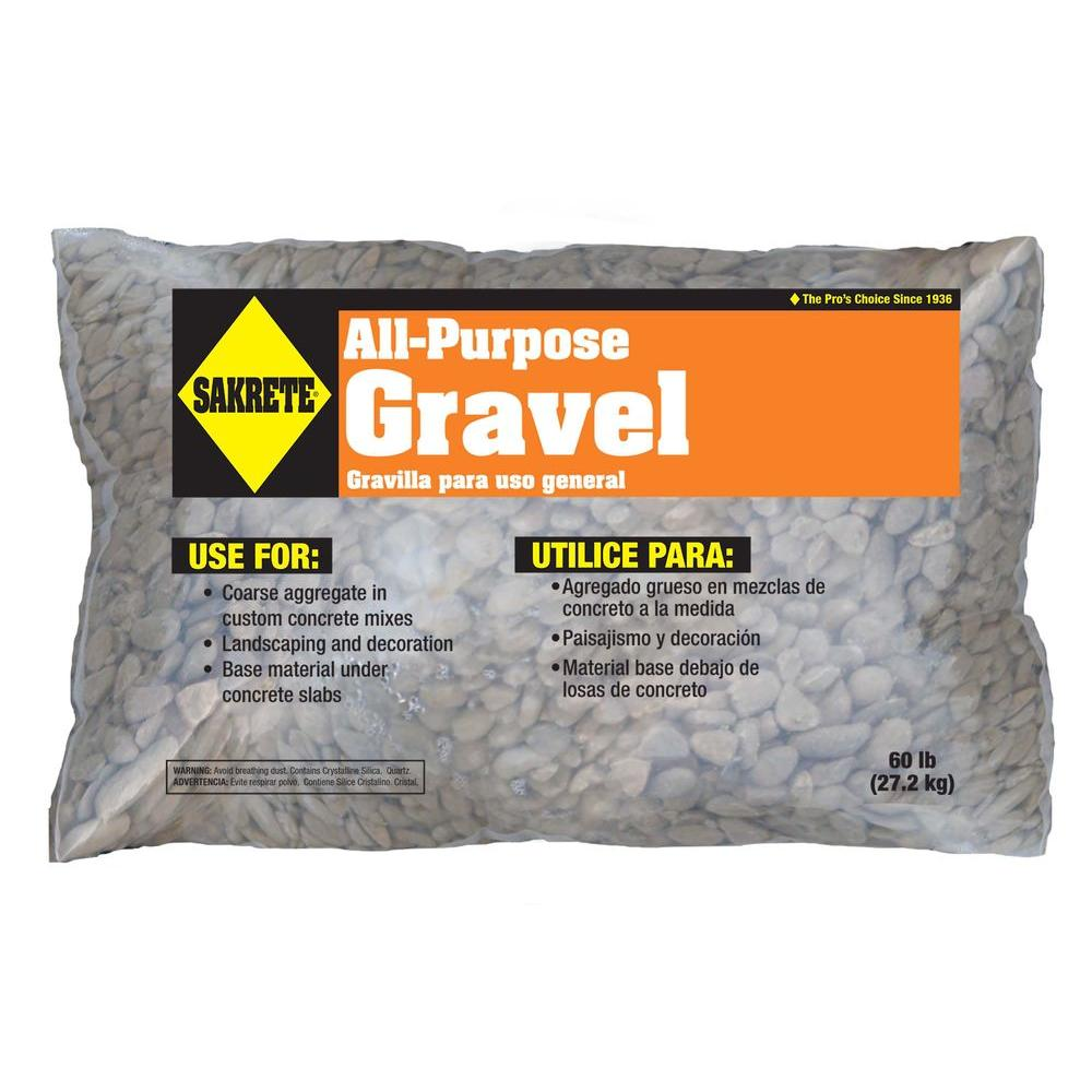 SAKRETE All-Purpose 60 lb. Gravel