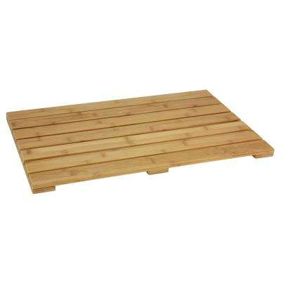 13 in. x 20 in. Bamboo Shoe Tray