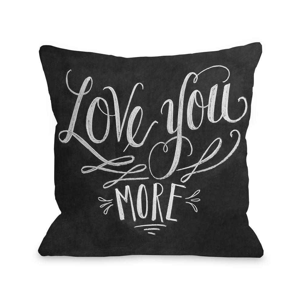null love you more  in x  in decorative pillow. love you more  in x  in decorative pillowpl  the