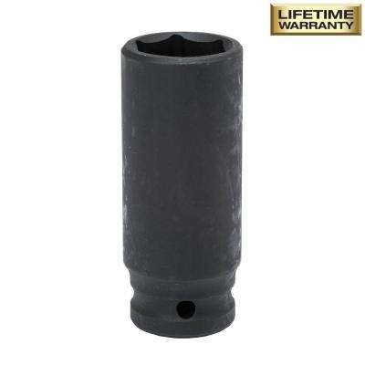 1/2 in. Drive 22 mm 6-Point Deep Impact Socket