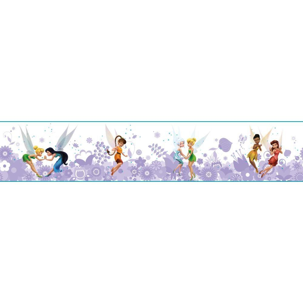 York Wallcoverings Walt Disney Kids Ii Fairies Best