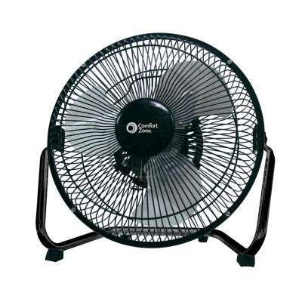 9 in. Black High Velocity Fan with Adjustable Tilt