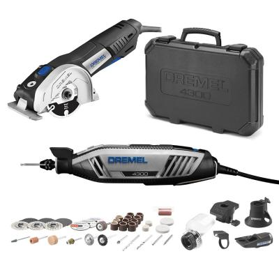 4300 Series 1.8 Amp Variable Speed Corded Rotary Tool Kit + Ultra-Saw 7.5 Amp Variable Speed Corded Tool Kit