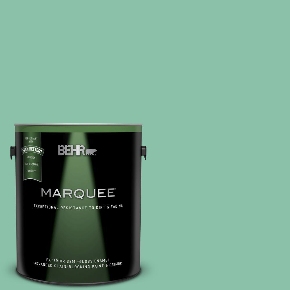 Home Decorators Collection Hdc Wr14 8 Spearmint Frosting Semi Gloss Enamel Exterior Paint Primer